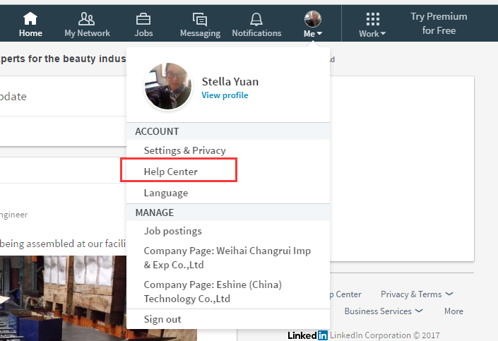 linkedin share button 1